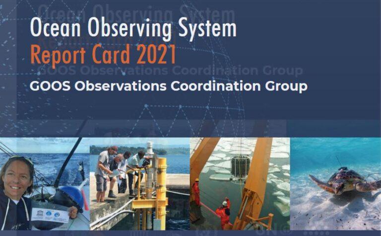 Ocean Observing Report card 2021