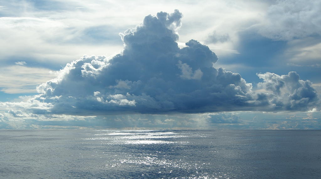 Image of the ocean