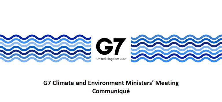 G7 communique May 2021